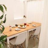 ●ゆったり気軽に食事できます【個室やカップルシート】