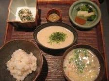 麦飯とろろ定食(小)
