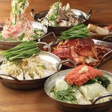 明太炊き餃子鍋