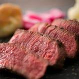 さっぱりとした旨味を愉しむ「黒毛和牛ステーキ」【各地】