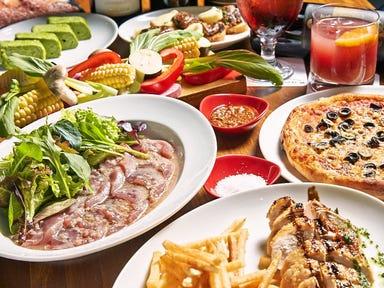 肉と野菜の石窯バル MONPAL  コースの画像