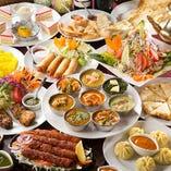 ◆アジアン料理の定番コース<全11品>