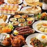◆アジアン料理の定番コース<全11品>2,778円(税抜)