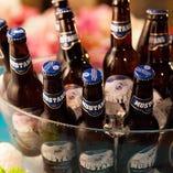 【自慢のオリジナルビール】 ムスタンビールも飲み放題に!