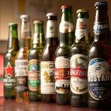 豊富なボトルビール