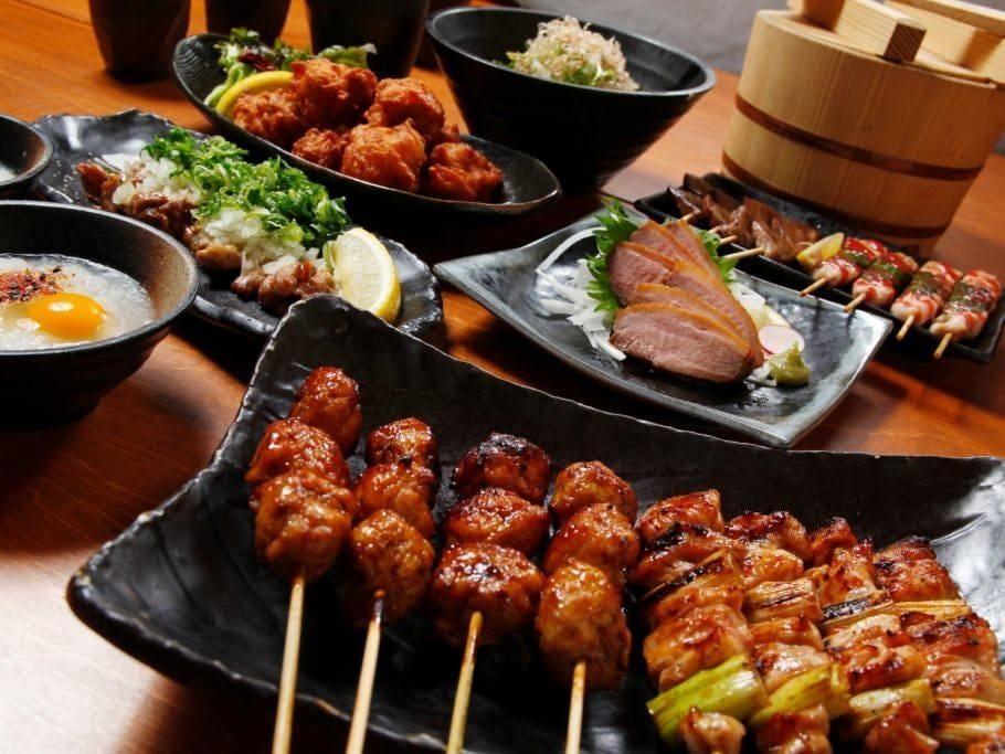 絶品鶏料理のご宴会コース