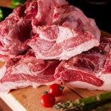 新鮮な北海道産羊肉をご提供。
