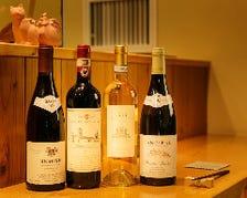 焼鳥と相性の良いワインが充実
