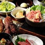 名古屋観光・出張時のお食事は、名古屋名物満載コースを◎