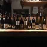 世界各国のワインをソムリエが厳選。