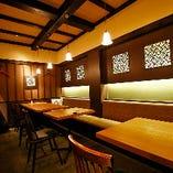 【6~12名様】和空間を楽しむ落ち着いたテーブル個室