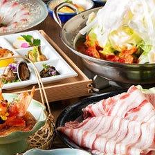 自慢の鮮魚や炭火焼で彩る華やか宴会