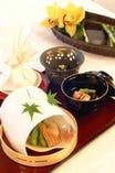 京料理の数々。