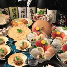 鮮度抜群の海鮮と郷土料理に舌鼓