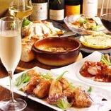 旬を感じるスパニッシュイタリアンを堪能♪個室宴会も可能です。