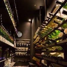 日本酒やワインを豊富にご用意