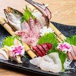 漁港から直接仕入れた海鮮は絶品です!ぜひご賞味ください