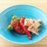 炭火焼野菜 各種