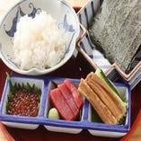 手摘み寿司 ~穴子・鮪・いくら~