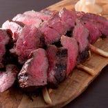 超熟成黒毛和牛ランイチの炭火焼き