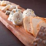 フェルミエチーズの盛合せ