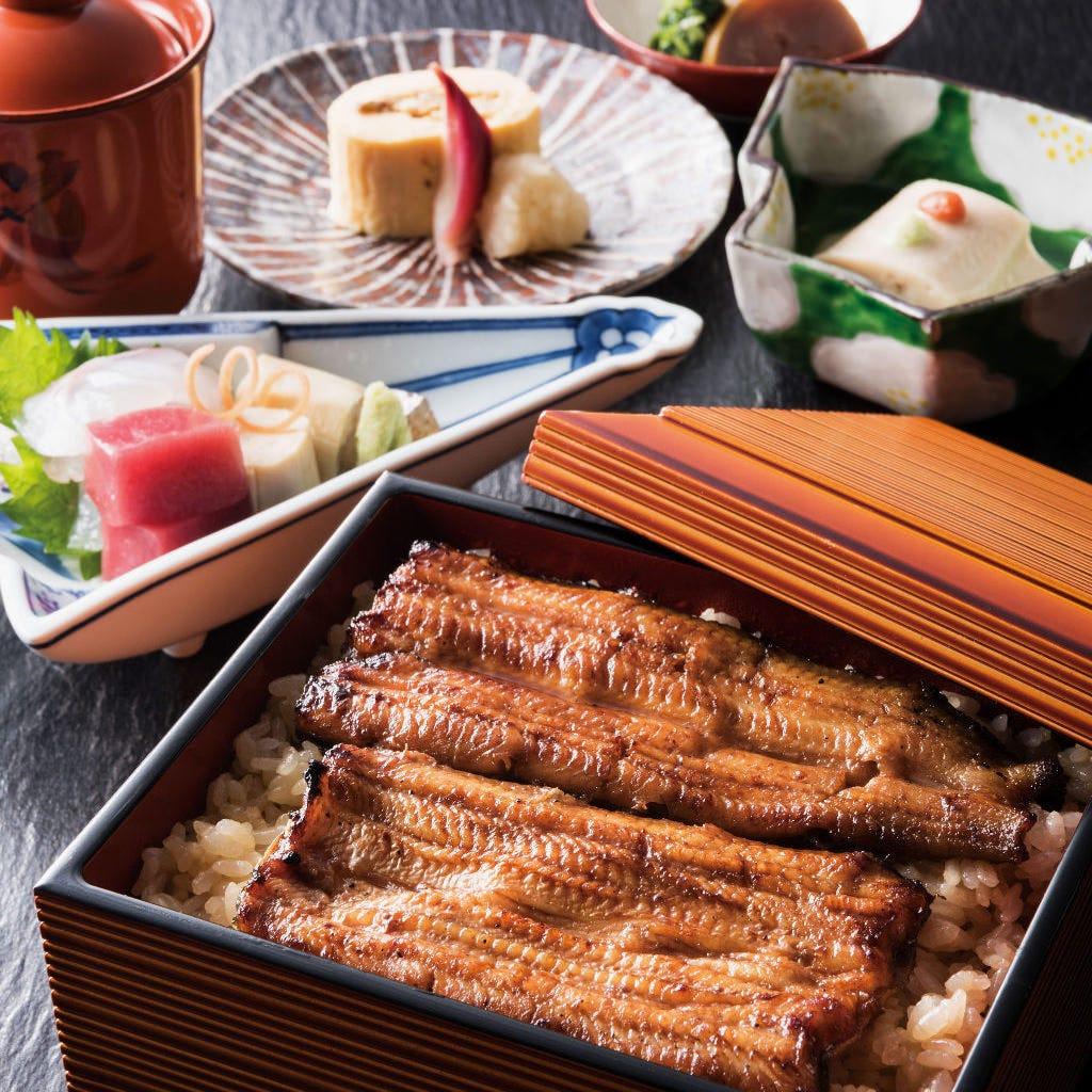 竹茂楼伝統の味「うなぎ料理」もぜひご賞味くださいませ。
