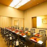 内側個室は最大20名様までご利用可能。法事利用にもぜひ。