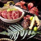 贅沢な厳選食材の調和をお楽しみください。