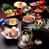 美濃吉創業300年記念「謝恩特別懐石」も登場。