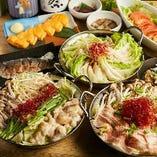 お得な宴会コースは、飲み放題付3000円~ご用意しております。