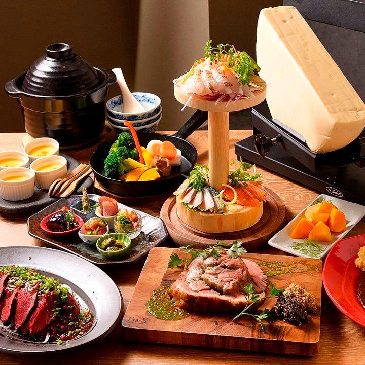 有名レストラン出身のシェフによる多彩な創作イタリアンの数々♪