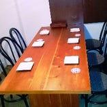 ◆6名様テーブル席 【ワンランク上の女子会や合コン・あらゆるシーンに】