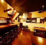 ◆1Fフロア&カウンター席【カップルや親友と過ごすならこちらで】