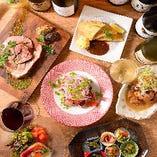 「炭焼きバル オルサリーノ」お洒落な料理が豊富