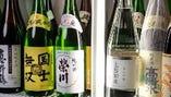 こだわり日本酒常時70種類以上!好きな日本酒に出会えるはず…。