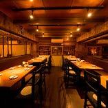 【1F・メインフロア】テーブル席(3~40名様まで)