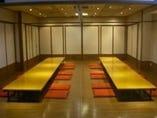 12名~最大100名様まで 収容可能な個室!宴会場。