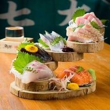 厳選した新鮮な鮮魚介料理をご堪能!