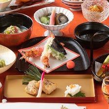 【お祝い事におすすめ】旬の味を楽しむ懐石料理フルコース『お祝い用雪コース 』