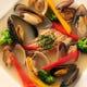 オススメコースのお魚メイン料理 ブイヤベース