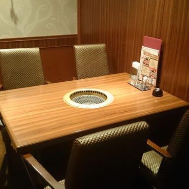 牛兵衛 草庵 東京ドームホテル店 店内の画像