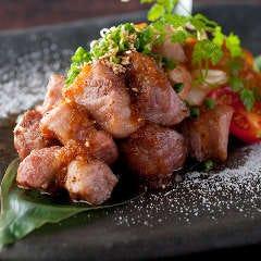 イベリコ豚のサイコロステーキ