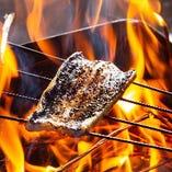 炭火焼き料理もご用意しています