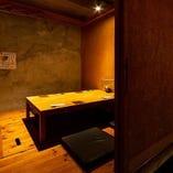 完全プライベート空間で接待・会食を【掘りごたつ席完全個室(3~4名様×3卓)】