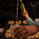りんごから造られた微発泡酒「シードラ」は店主おすすめ♪