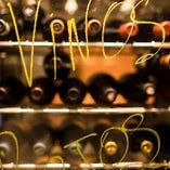 お料理とワインのマリアージュのご提案もいたします