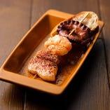 豚肉とタコのピンチョ