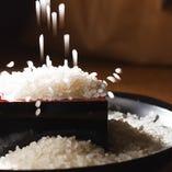 大橋園芸さんの米はふっくらとして程良い甘みと喉越しの良さがウリ◎