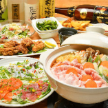【150分飲み放題付】選べる豚鍋コース/全8品 4,800円