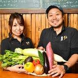 野菜や卵など地元豊田の食材にこだわる当店!地産地消を心がけています